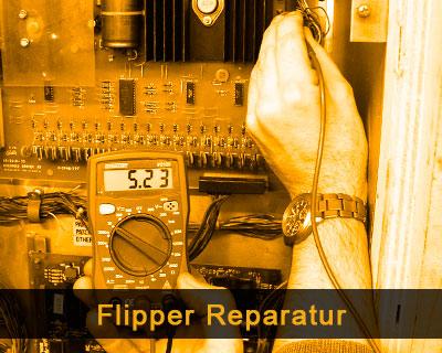 Flipper Reparatur