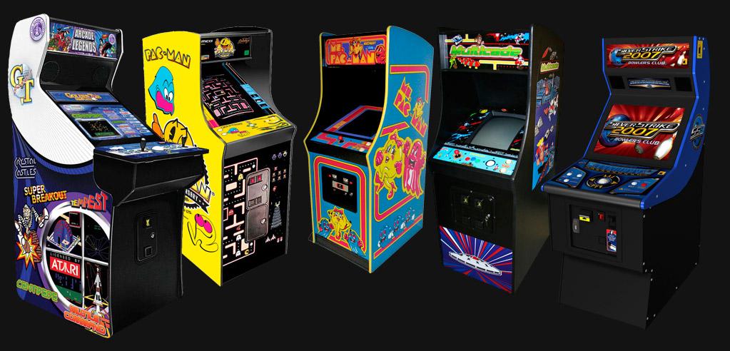 arcade videogames eyecatcher