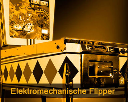 Elektromechanische Flipper Restauration