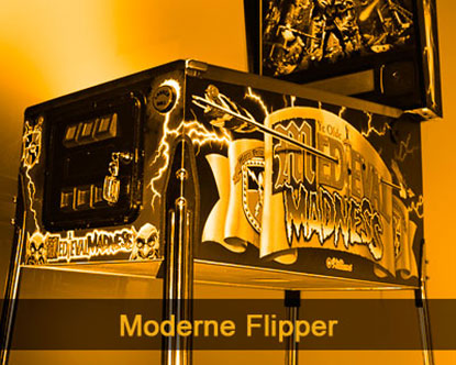 Moderne Flipper Restauration