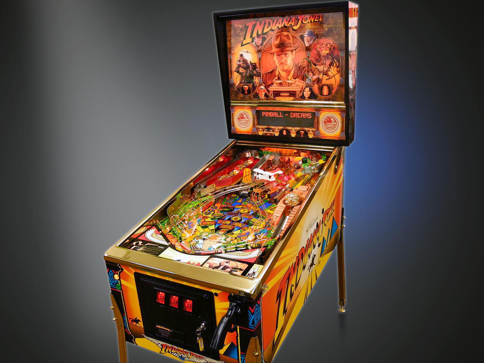 Indiana Jones Restoration - New York Pinball