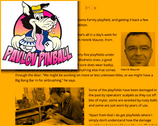 Pavlov Pinball